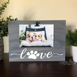Dog Photo Frame - The Queen Bee Company