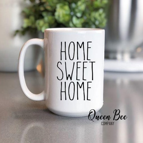 Home Sweet Home Coffee Mug - The Queen Bee Company
