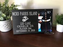 Load image into Gallery viewer, US Marine Corps Picture Frame - The Queen Bee Company