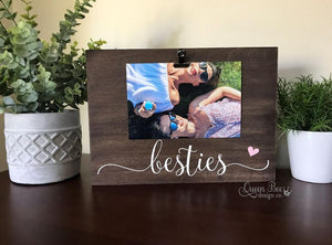 Besties Picture Frame - The Queen Bee Company