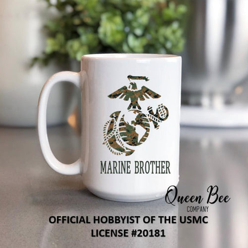 US Marine Brother Coffee Mug - The Queen Bee Company