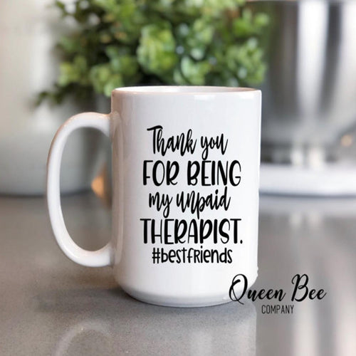 Best Friends Coffee Mug - The Queen Bee Company
