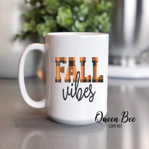 Fall Vibes Coffee Mug - The Queen Bee Company
