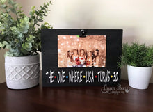 Load image into Gallery viewer, FRIENDS TV | The One Where _____ Turns ______ Picture Frame - The Queen Bee Company