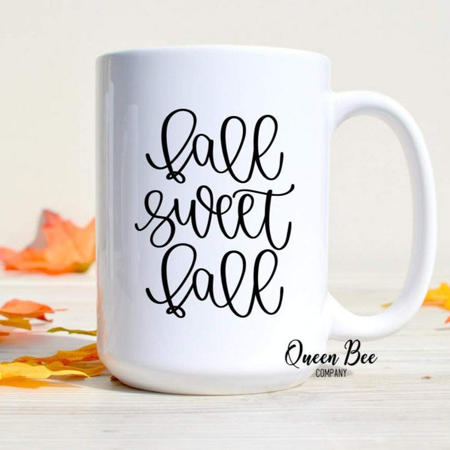 Fall Sweet Fall Coffee Mug - The Queen Bee Company