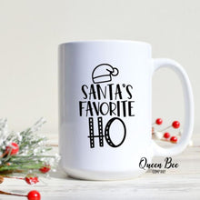 Load image into Gallery viewer, Santa's Favorite HO Mug - The Queen Bee Company