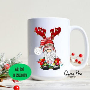 Gnome Christmas Mug - The Queen Bee Company