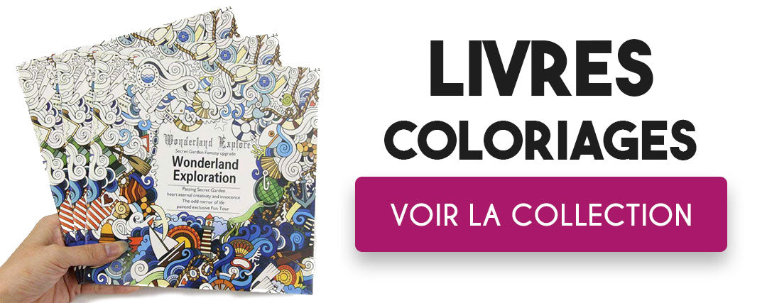 Collection Livre Coloriage