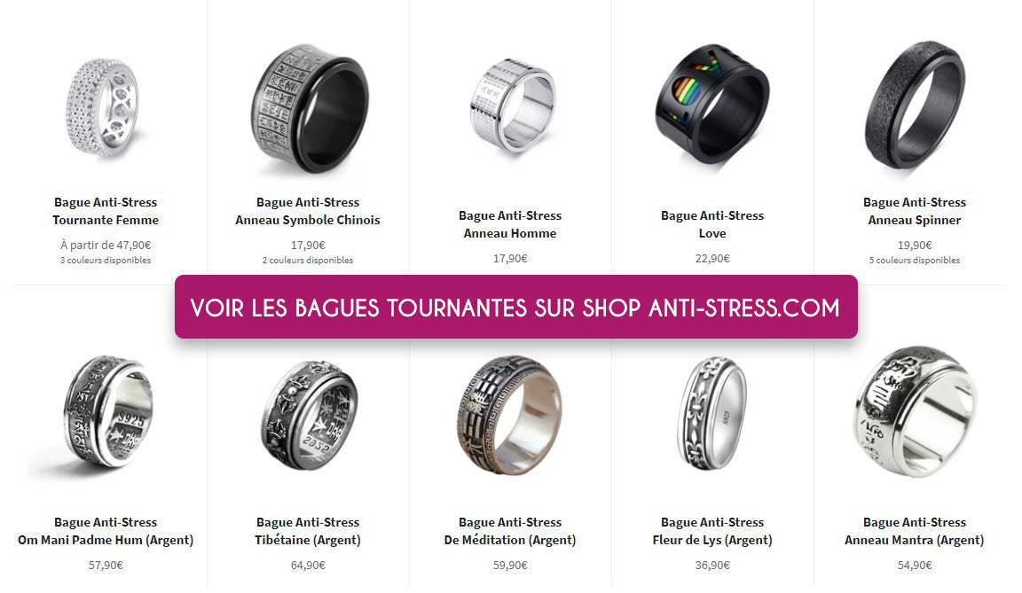 Collection Bague anti-stress