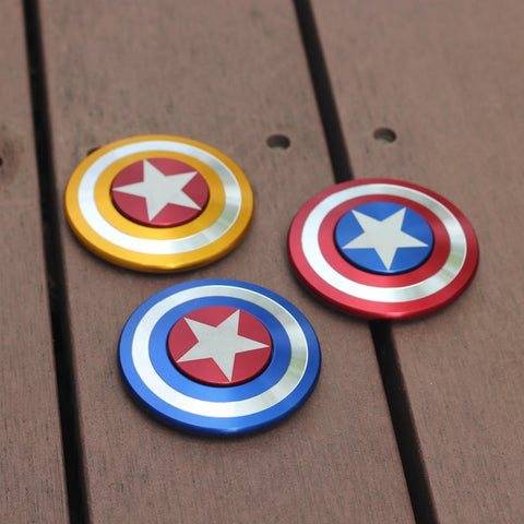 Hand Spinner <br>Bouclier Captain America - Shop Antistress