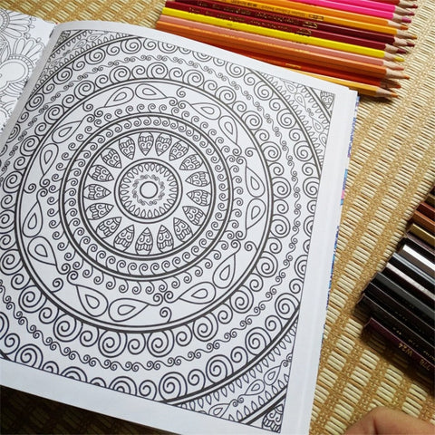 Coloriage Anti-Stress <br>Mandalas - Shop Antistress