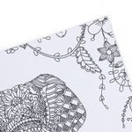 Coloriage Anti-Stress <br>Animaux de la Savane - Shop Antistress