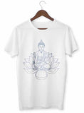 T-Shirt Zen <br> Bouddha Fleur de Lotus - Shop Antistress