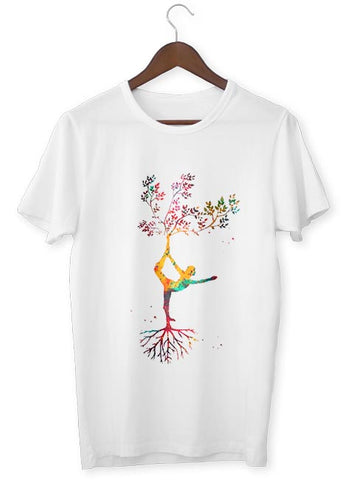 T-Shirt Zen <br> Arbre de vie multicolore - Shop Antistress