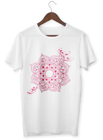 T-Shirt Zen <br> Fleur de Lotus Rose - Shop Antistress