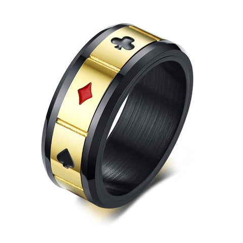 Bague Anti-Stress <br>Carte - Shop Antistress