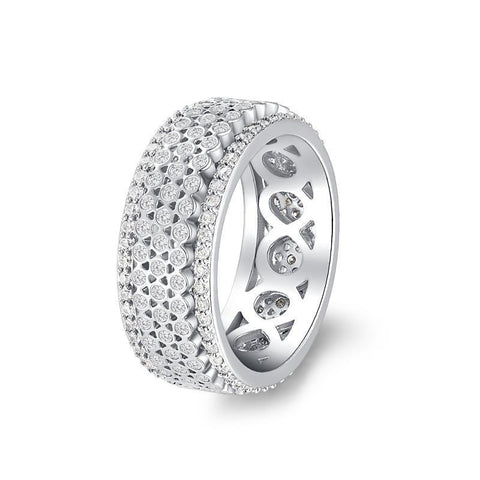 Bague Anti-Stress <br>Tournante Femme - Shop Antistress