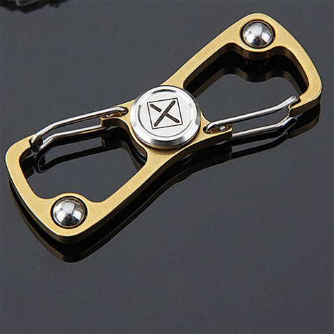 Porte Clé Anti-Stress <br>Mousqueton Spinner - Shop Antistress