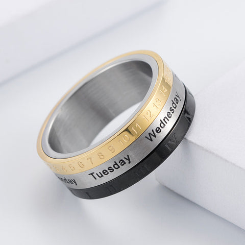Bague Anti-Stress <br>Calendrier - Shop Antistress