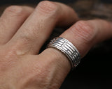 Bague Anti-Stress <br>Feng Shui (Argent) - Shop Antistress