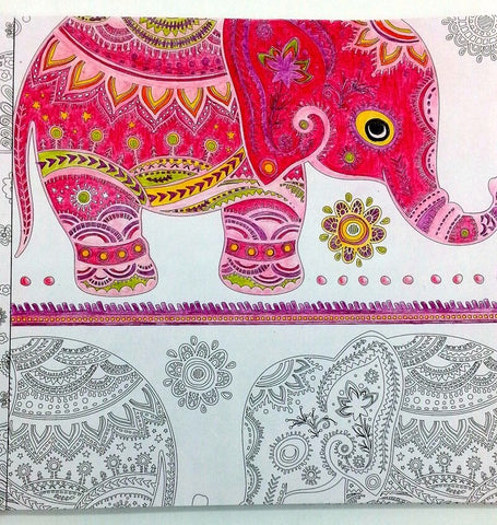 Coloriage Anti-Stress <br>Bollywood - Shop Antistress
