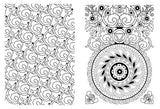 Coloriage Anti-Stress <br>Mandala Fleur Facile - Shop Antistress
