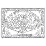 Coloriage Anti-Stress <br>Éventail - Shop Antistress