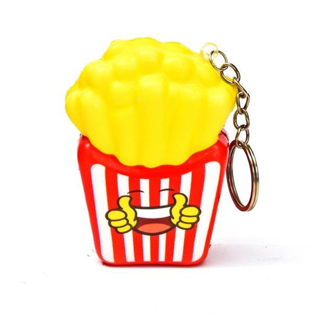 Porte Clé Anti-Stress <br>Squishy Frites - Shop Antistress