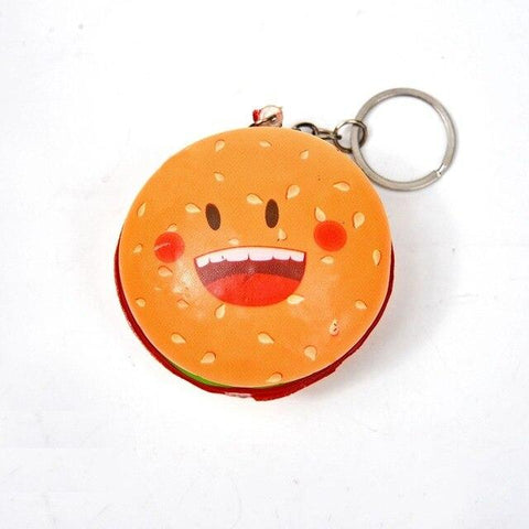 Porte Clé Anti-Stress <br>Squishy Hamburger - Shop Antistress