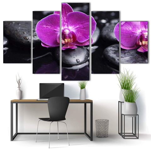Tableau Zen <br>Orchidée Rose - Shop Antistress