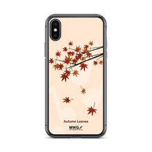 Load image into Gallery viewer, Autumn Leaves iPhone Case