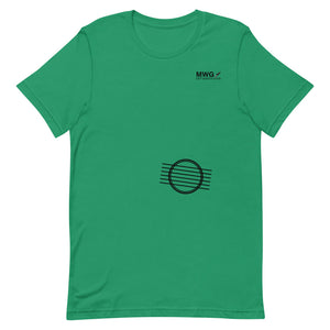 Left Handed Sound Hole Short-Sleeve Unisex T-Shirt