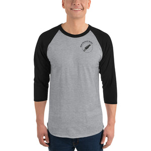 Matt Warnock Guitar Unisex 3/4 sleeve raglan shirt