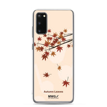 Load image into Gallery viewer, Autumn Leaves Samsung Case