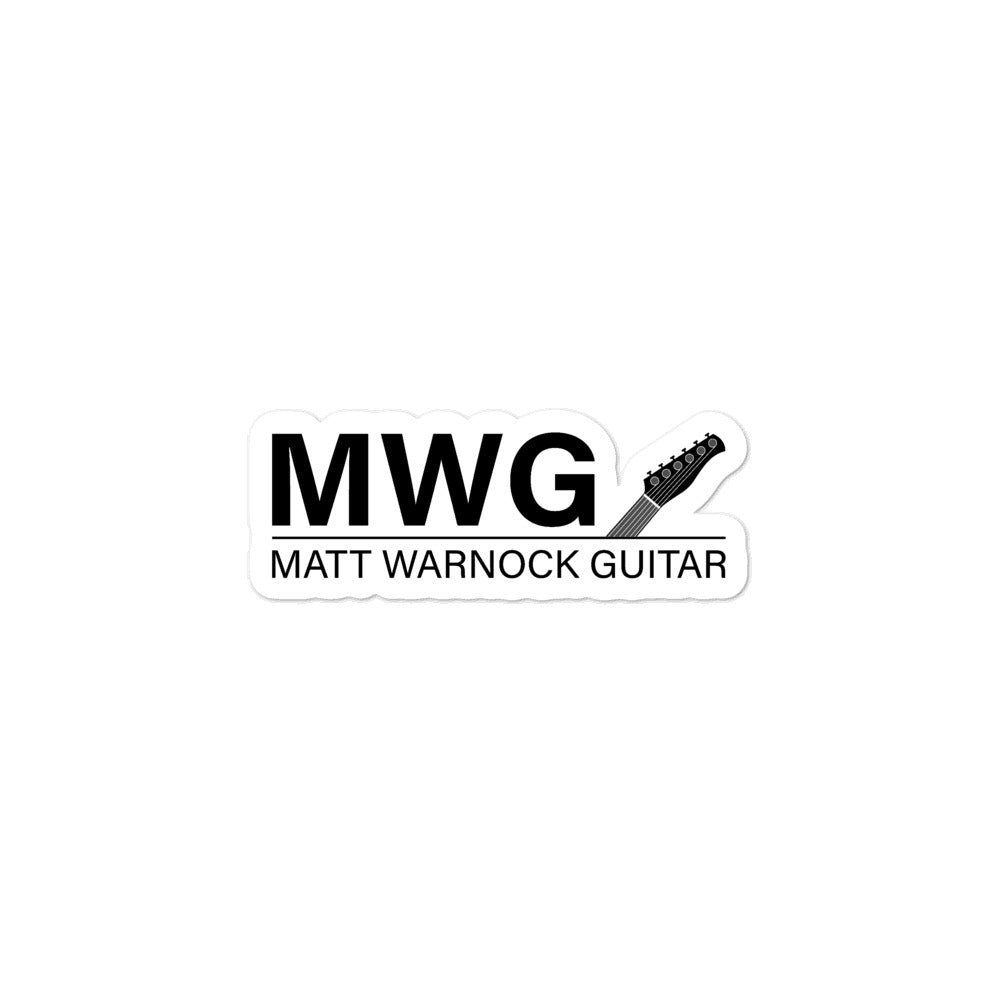 MWG Bubble-free stickers