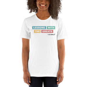 Camp MWG - Lessons With The Greats Short-Sleeve Unisex T-Shirt