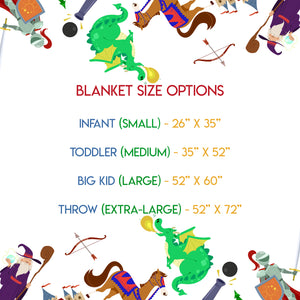Dungeons & Dragons - Blanket
