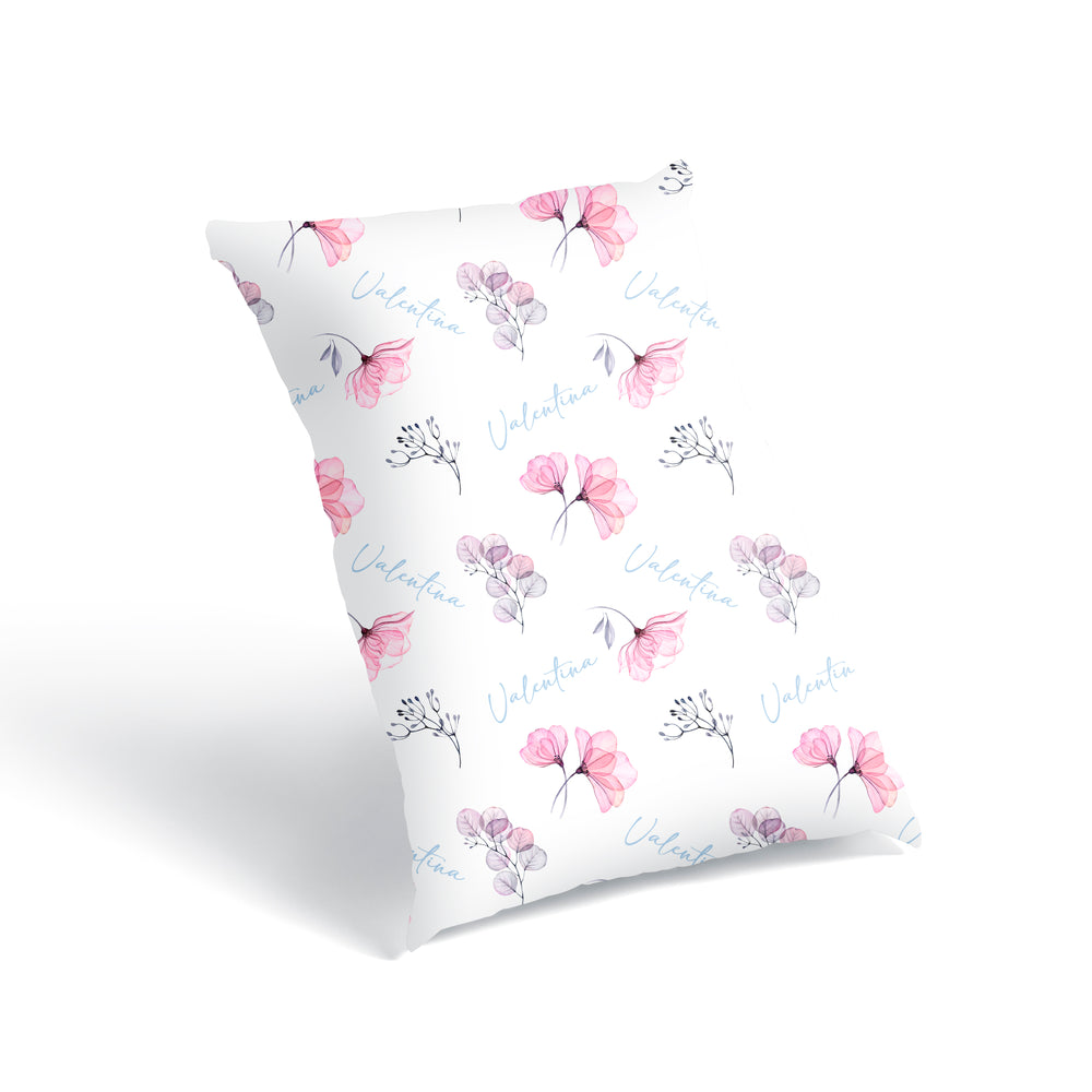 Load image into Gallery viewer, Delicate Peonies - Floor Pillow