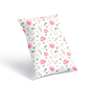 Soft Florals - Floor Pillow