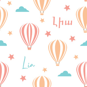 Hot Air Balloons - Blanket