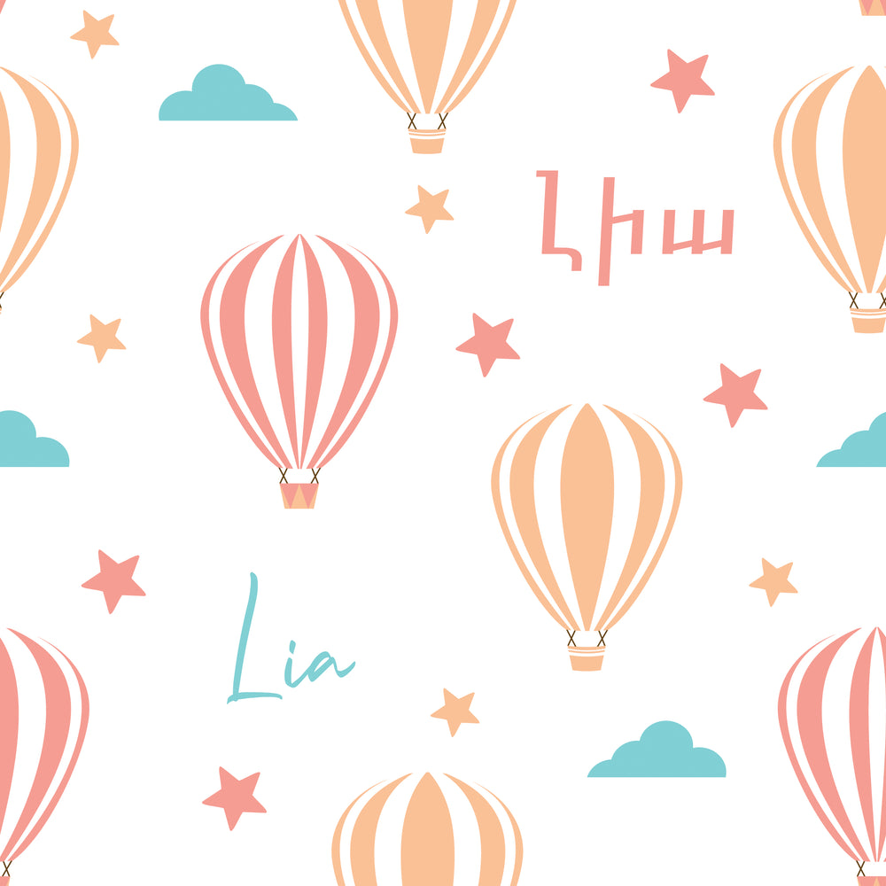 Load image into Gallery viewer, Hot Air Balloons - Floor Pillow