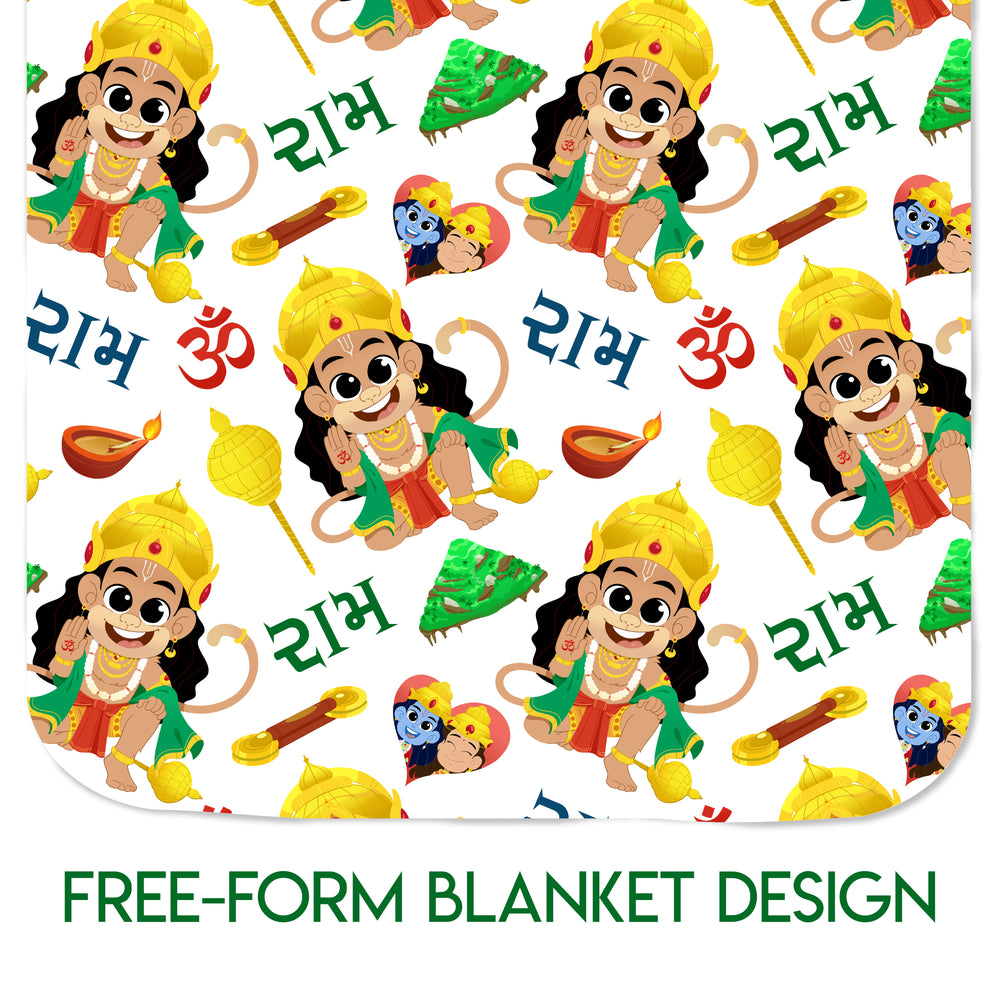 SIGNATURE COLLECTION - Little Hanuman - Blanket