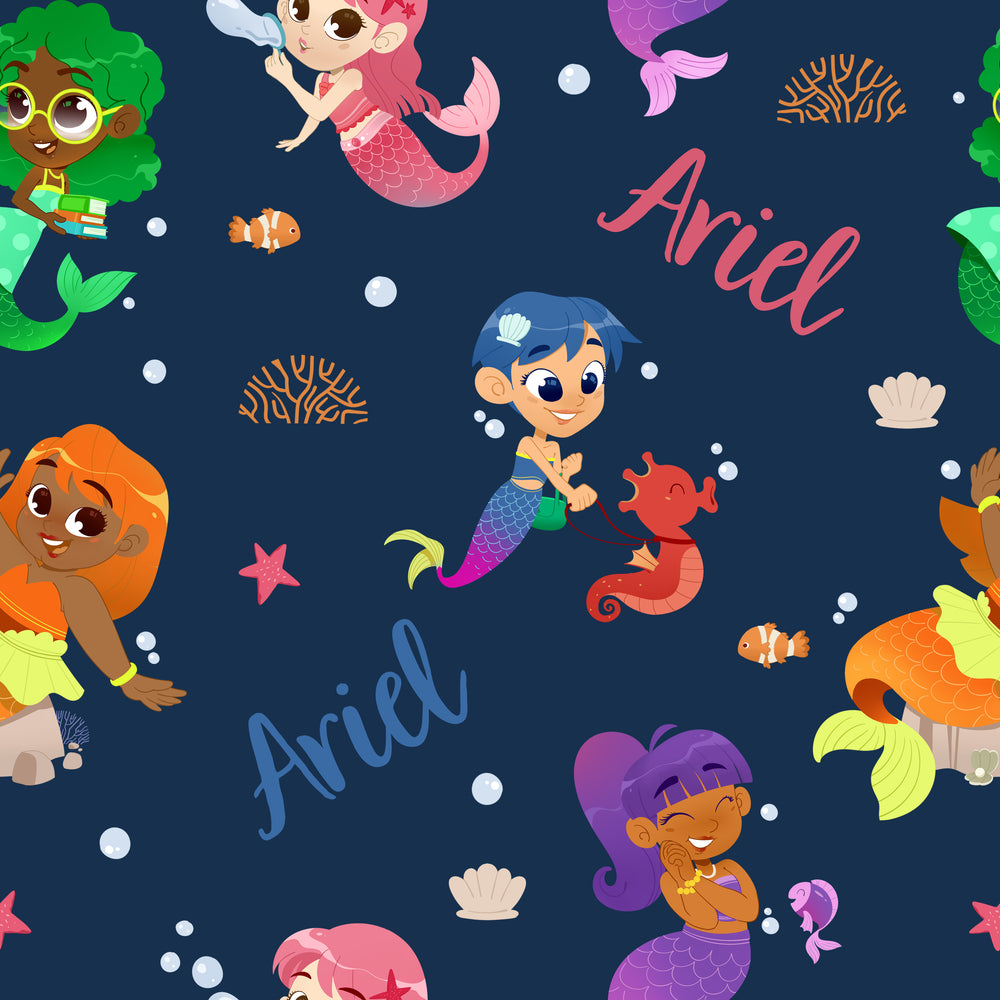 Load image into Gallery viewer, Mermaids - Blanket