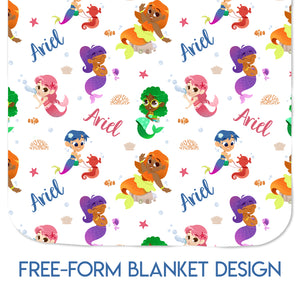 Mermaids - Blanket