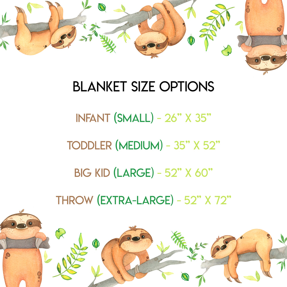 Load image into Gallery viewer, Sloths - Blanket