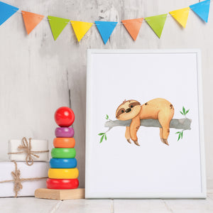 Load image into Gallery viewer, Sloths - Art Prints