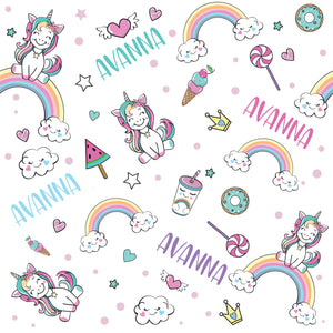 Unicorns - Floor Pillow