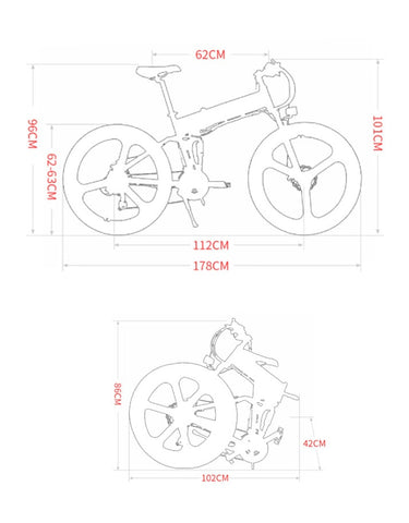 High bit of electric bicycle