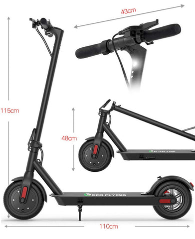 Messung trottinette Eco-Flying S85 7.5B