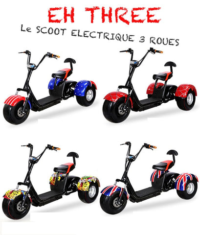 3-wheel electric scooter EH THREE